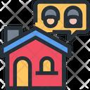 Family Couple Home Icon