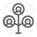 Family Tree Generation Icon