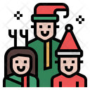 Family Happy Family Family Celebration Icon