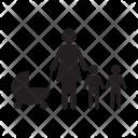 Mother Son Men Icon
