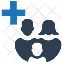 Family Healthcare Medical Icon