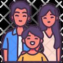 Family Life Children Icon