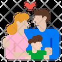 Family Children Parents Icon