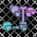 Family Tree Line Icon