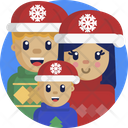 Christmas Mother Father Icon