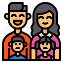 Family Father Mother Icon
