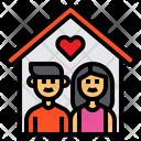 Family Home Man Icon