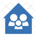 Family House Safety Icon