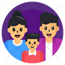Mother Dad Family Icon
