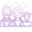 Family Couple Happy Icon