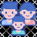 Family Family Addicted Family Addiction Icon