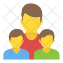 Family Father Son Icon
