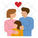 Family Mother Father Icon