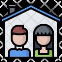 Family Building Architecture Icon