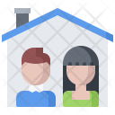 Family Building House Icon