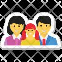 Family Loving Parents Icon