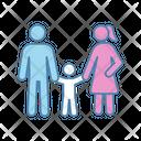 Child Parent Support Icon