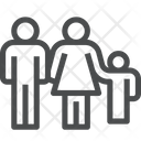 Family Members Small Family Humans Icon