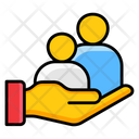 Customer Support Human Care Family Care Icon