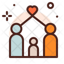 Family Care Family Home Icon