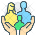 Family Care Family Parents Icon