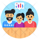 Family Chat Family Communication Family Discussion Icon