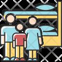 Family Dormitory Icon