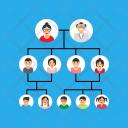 Family Tree Hierarchy Icon