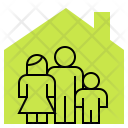 Home Family House Icon