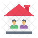 Home Building Family Icon