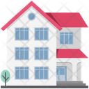 Apartment House Villa Icon
