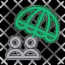 Care Umbrella Insurance Icon