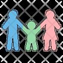 Wellness Family Shield Icon