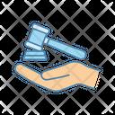 Divorce Judge Justice Icon
