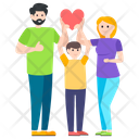 Family Love Happy Family Motherhood Icon