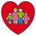 Family Love Icon