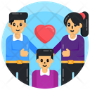 Family Love Parents Love Family Icon