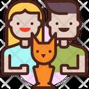 Family Pet Pet Family Icon