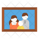 Family Photo Picture Icon