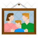Family Photo Frame Family Photo Photo Icon