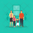 Family Kids Parents Icon