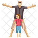 Family Picnic Icon