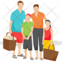 Family Picnic Picnic Family Time Icon