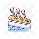 Raft Family Water Icon