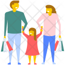 Family Shopping Icon