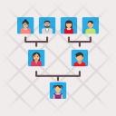 Family Tree Genealogical Icon