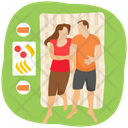 Camping Outdoor Picnic Adventure Icon