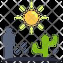 Famine Disaster Danger Icon