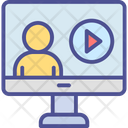Famous Video Popular Video Video Advertising Icon