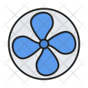 Fan Air Turbine Icon